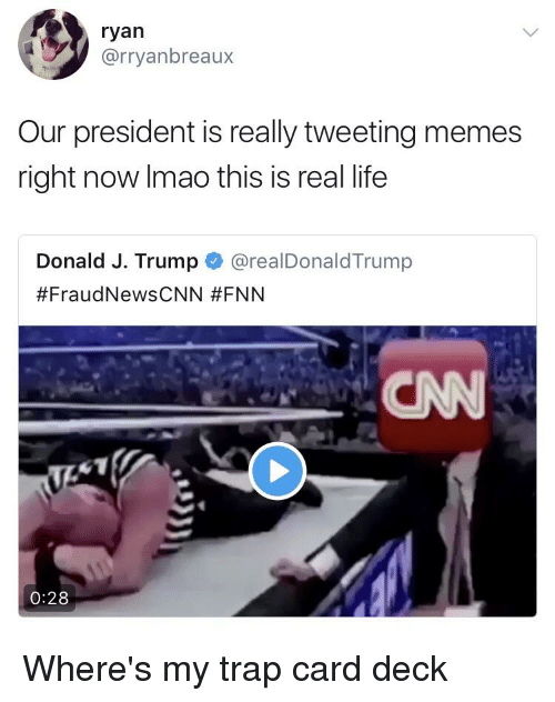 Funniest Memes Right Now : Ryan our president is really tweeting memes right now imao