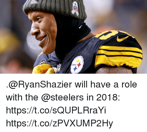 Memes, Steelers, and 🤖: .@RyanShazier will have a role with the @steelers in 2018: https://t.co/sQUPLRraYi https://t.co/zPVXUMP2Hy