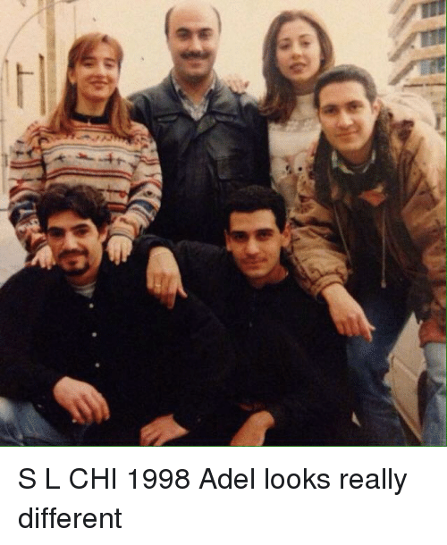 Lebanese: S L CHI 1998 Adel looks really different