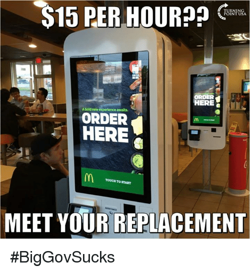 s15: S15 PER HOUR??  ORDER  HERE  bold new experience awaits.  ORDER  HERE  TOUCH START  TO MEET YOUR REPLACEMENT #BigGovSucks