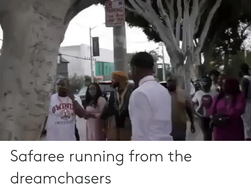 Dreamchasers: Safaree running from the dreamchasers