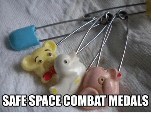 Space, Military, and Spaces: SAFE SPACE COMBAT MEDALS