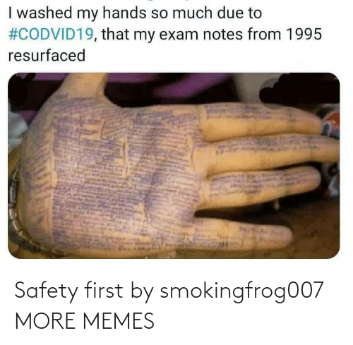 Safety: Safety first by smokingfrog007 MORE MEMES