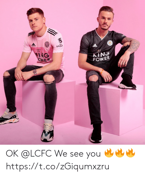Lcfc: SAIG  KING  CRER  KING  POWER OK @LCFC   We see you 🔥🔥🔥 https://t.co/zGiqumxzru