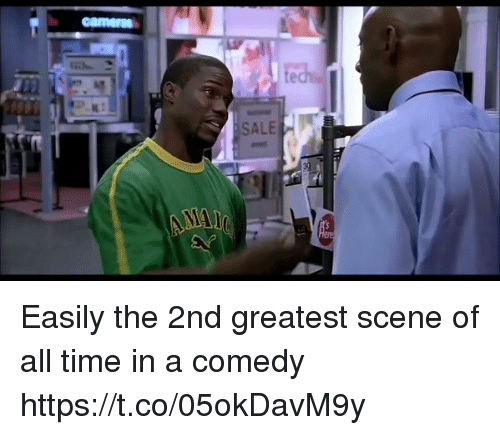 Saled: SALE Easily the 2nd greatest scene of all time in a comedy https://t.co/05okDavM9y