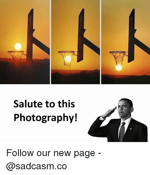 new page: Salute to this  Photography! Follow our new page - @sadcasm.co