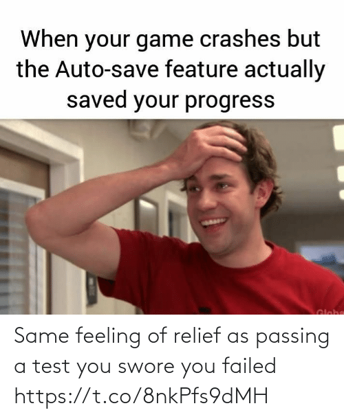feeling: Same feeling of relief as passing a test you swore you failed https://t.co/8nkPfs9dMH
