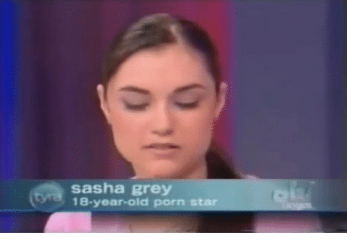 18 year old sasha grey takes 2 massive black cocks 2