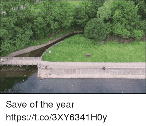 Year, The, and Save: Save of the year https://t.co/3XY6341H0y