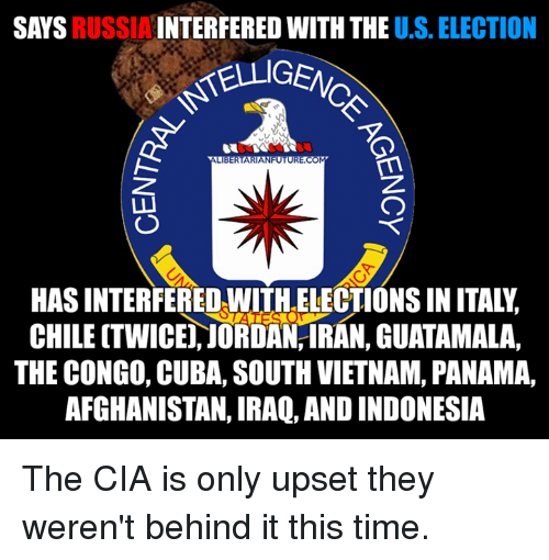 Image result for US interference with elections meme