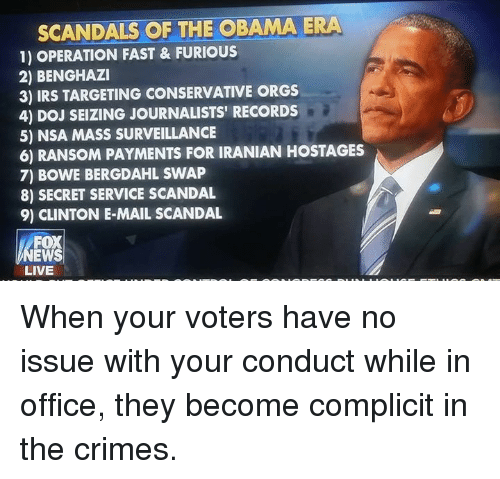Image result for scandals of obama era