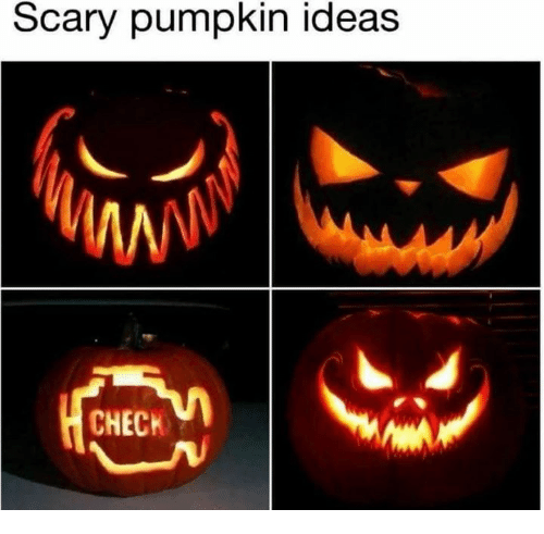 Dank, Pumpkin, and 🤖: Scary pumpkin ideas  CHECK