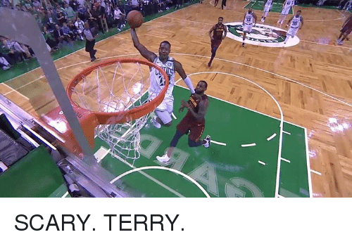 Scary, Scary Terry, and  Terry: SCARY. TERRY.