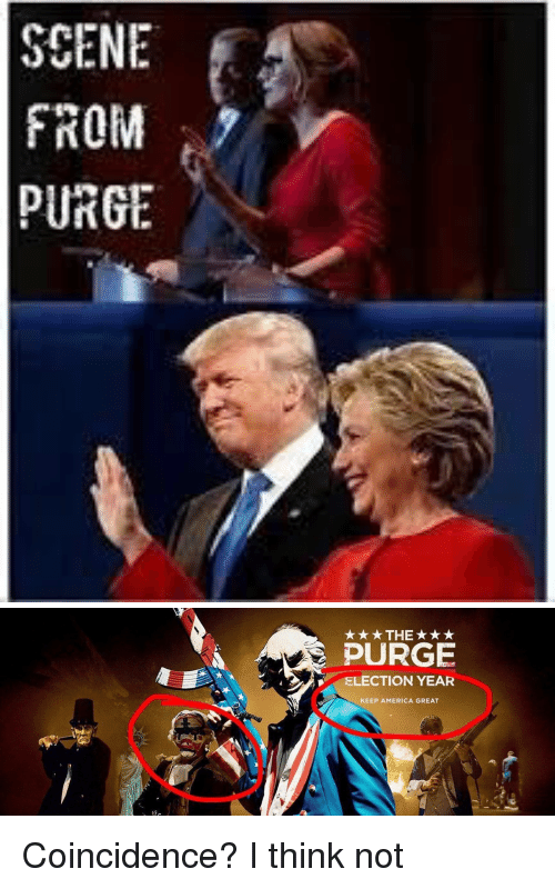 scene from purge election year keep america
