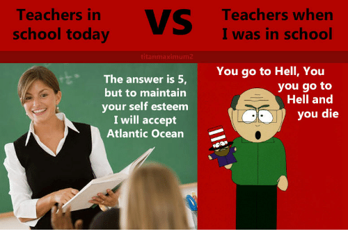 teachers of today