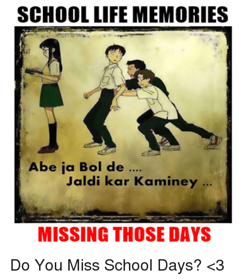 an unforgettable memory of my school days School daysthe best memories in my life filed under: my freaking thoughts — leave a comment november 14, 2011 whenever anyone asks me what was the best and the worst moments in your lifethe answer always zeroes down to the same placeyes,the best moments in my life were spent in my schoolthe worst moment in my.