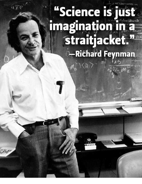 feynmans thesis The value of science by richard feynman richard feynman wrote a very compelling argument about human nature.