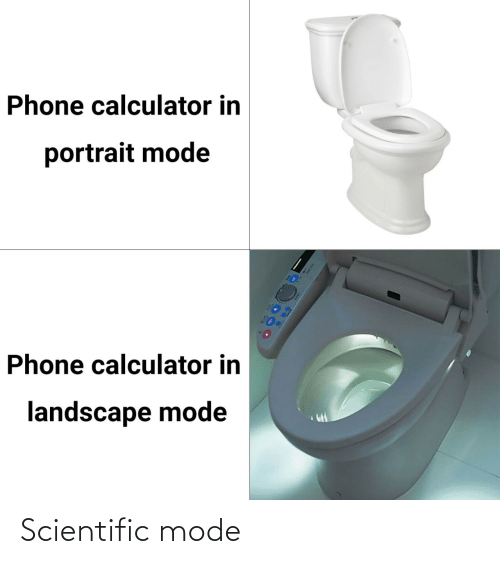 mode: Scientific mode