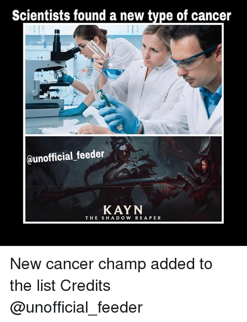 Scientists Found A New Type Of Cancer Kayn The Shadow