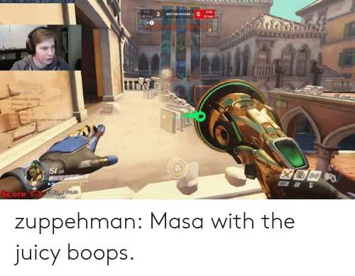 masa: Score 1-3 zuppehman:  Masa with the juicy boops.