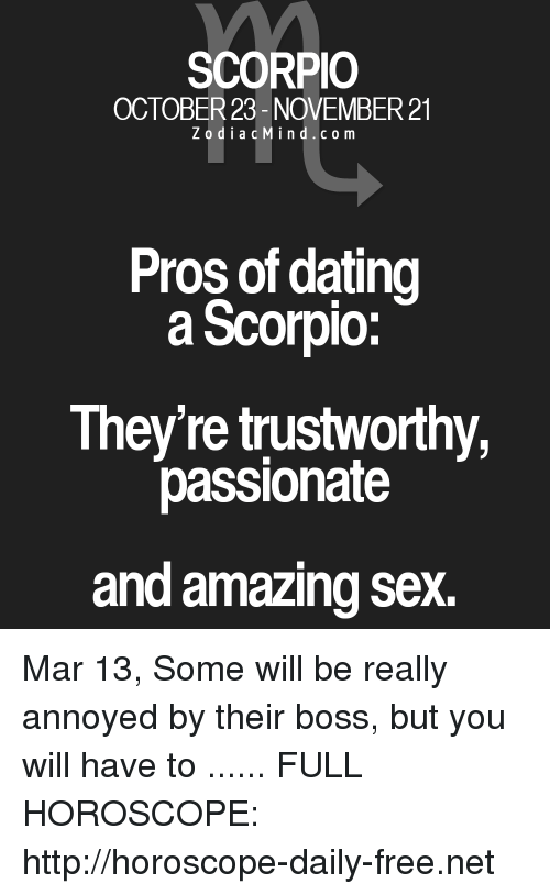Dating horoscope scorpio univision
