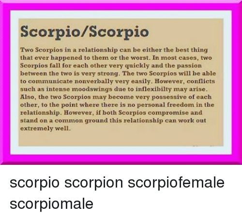 from Jesus two scorpios dating each other