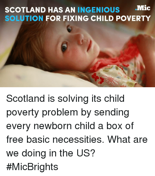 the issue and solutions to child poverty Child poverty refers to the state of children living in poverty this applies to  children that come  developed countries also have a serious problem with  child poverty  and intergenerational economic inequality is hotly debated, as  are most proposed policy solutions, and depends on the effects that most impact  the region.