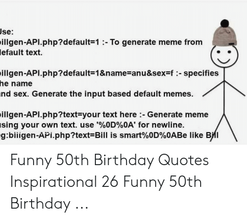 🔥 25 Best Memes About Funny 50Th Birthday