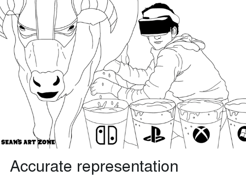 Video Games, Accurate Representation, and Art: SEANS ART  ZONE Accurate representation