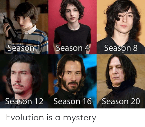 season-4: Season 4  Season 1  Season 8  Season 12  Season 16  Season 20 Evolution is a mystery