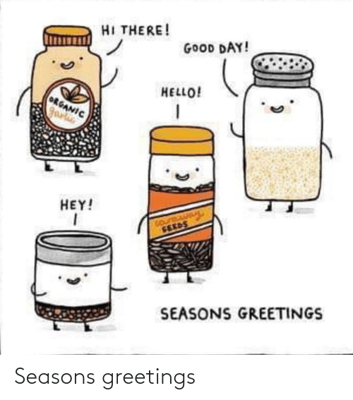 Seasons: Seasons greetings