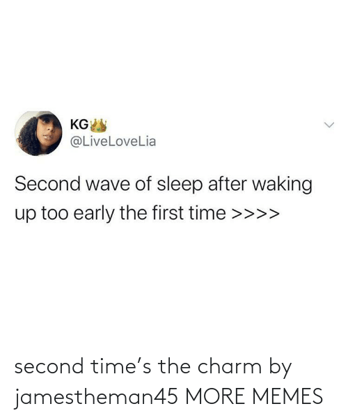 charm: second time's the charm by jamestheman45 MORE MEMES
