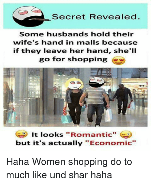 Secret Revealed Some Husbands Hold Their Wife's Hand in ...