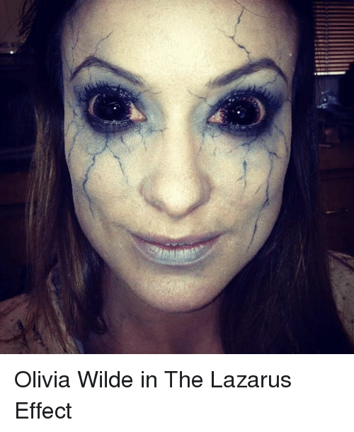 🤖: see Olivia Wilde in The Lazarus Effect