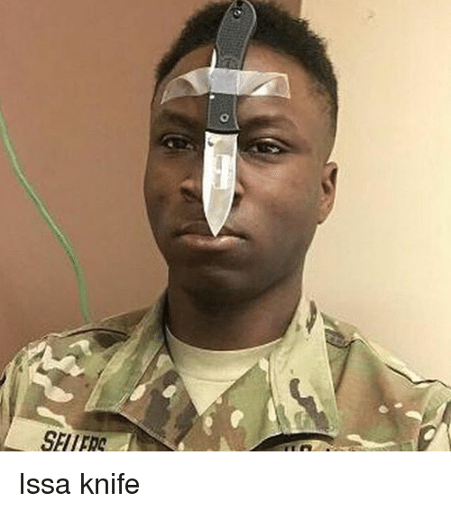 Memes, 🤖, and Knife: SEI IFRC Issa knife
