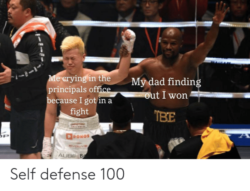 defense: Self defense 100