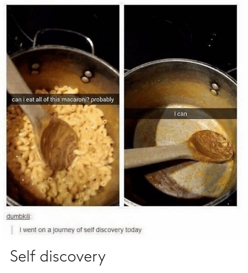 self: Self discovery