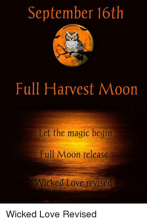 september 16th full harvest moon let the magic begin full 3835800 september 16th full harvest moon let the magic begin full moon,Harvest Moon Meme
