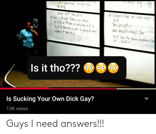 own dick fingers Gay
