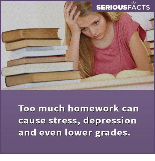 Homework anxiety disorder
