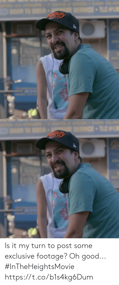 Oh Good: SERRCE TLELM   ENDE-TLEWLM Is it my turn to post some exclusive footage? Oh good... #InTheHeightsMovie https://t.co/b1s4kg6Dum