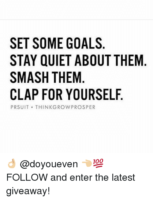 how to set goals for yourself pdf