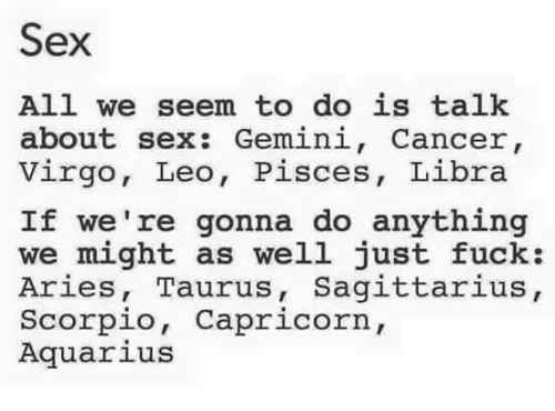 Libra and cancer sex
