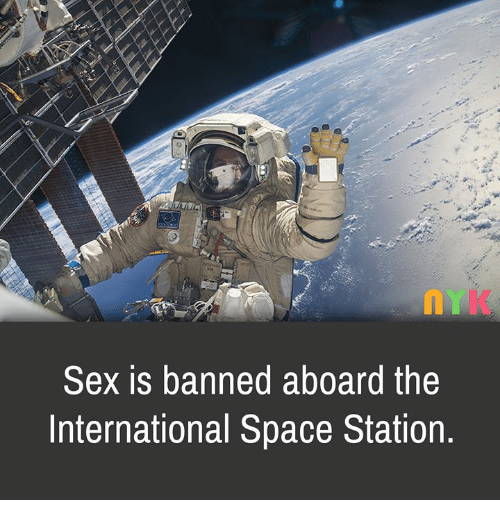 Sexual intercourse on space station