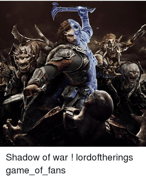 Lord Of The Rings Game Shadow Of War