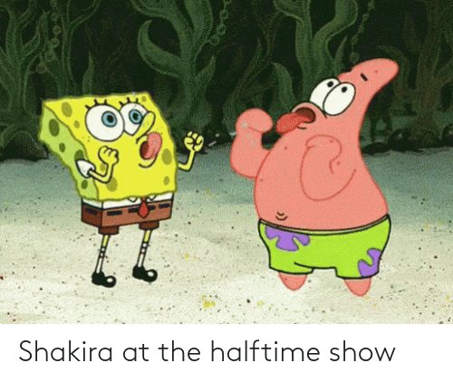 halftime: Shakira at the halftime show
