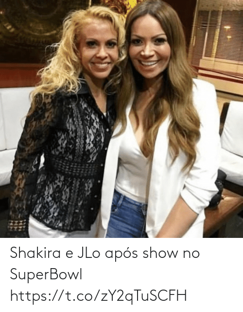 JLo: Shakira e JLo após show no SuperBowl https://t.co/zY2qTuSCFH
