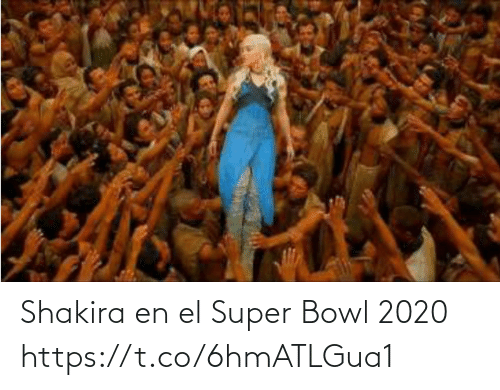 International: Shakira en el Super Bowl 2020 https://t.co/6hmATLGua1