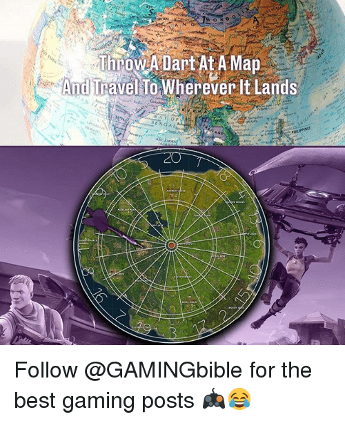 Best Gaming: SHAN  And Travel To Wherever It Lands  ENGAL Follow @GAMINGbible for the best gaming posts 🎮😂