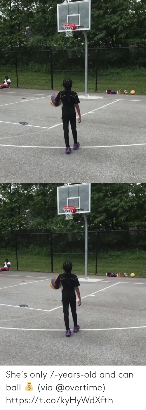 ball: She's only 7-years-old and can ball 💰 (via @overtime) https://t.co/kyHyWdXfth